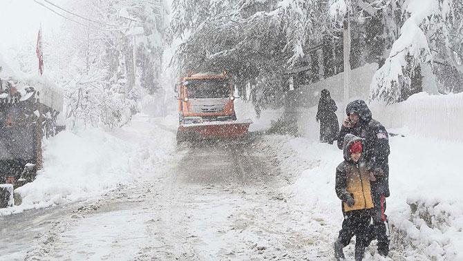 Yoğun kar yağışlarına dikkat!