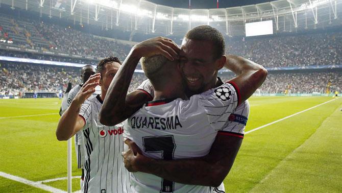 Kiev'de tarihi maç: Dinamo Kiev-Beşiktaş