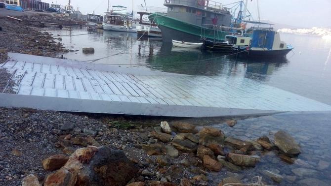 Muğla Büyükşehir Belediyesi'den amatör denizcilere kolaylık