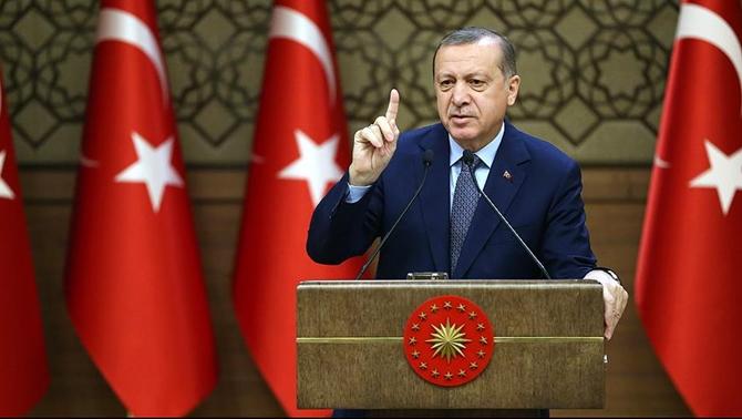 """Cumhurbaşkanı Erdoğan: """"Milli bir seferberlik ilan ediyorum!"""""""