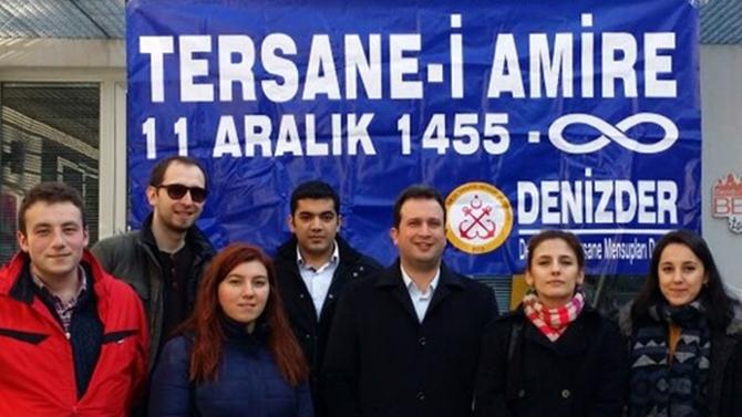 İTÜ-GİMDER Tersane-i Amire yıldönümü etkinliğine katıldı