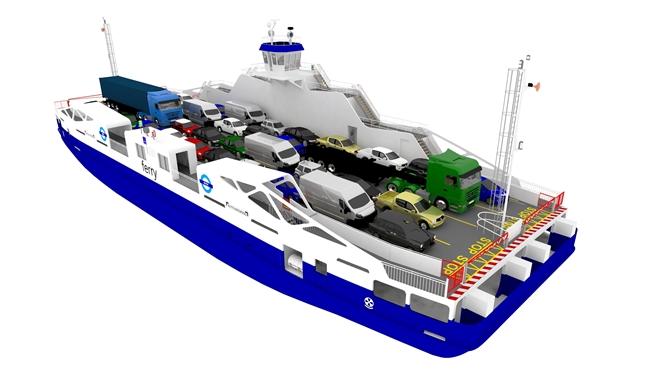 LMG Marin, hibrit feribotları için tasarım sözleşmesi imzaladı
