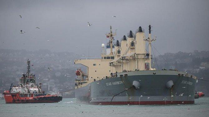 M/V Star Harmony gemisine kurtarma operasyonu yapıldı