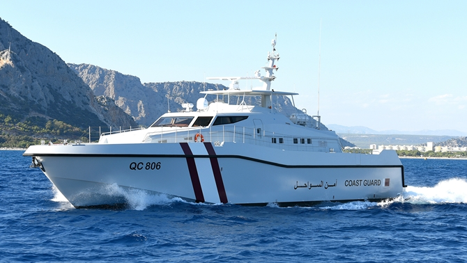 Katar Sahil Güvenliği Ayvaz Marin'i tercih etti