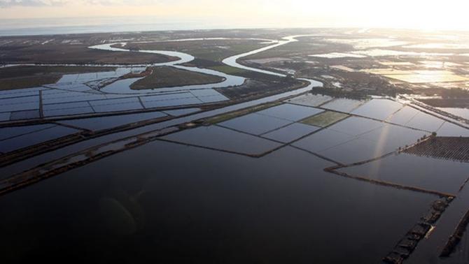 Sel felaketi sonrası Mersin havadan görüntülendi