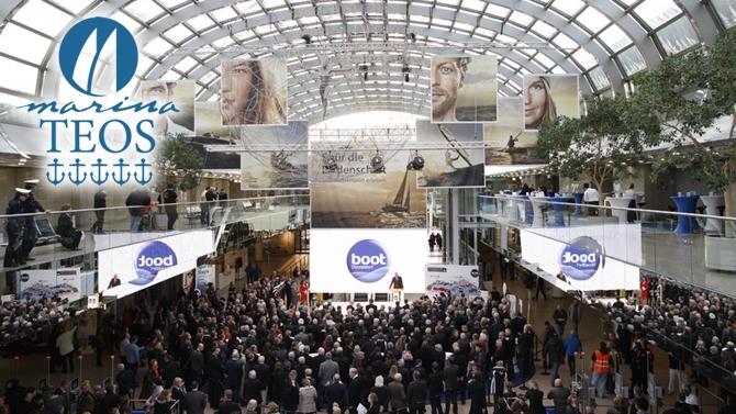 Teos Marina Boot Düsseldorf'ta olacak