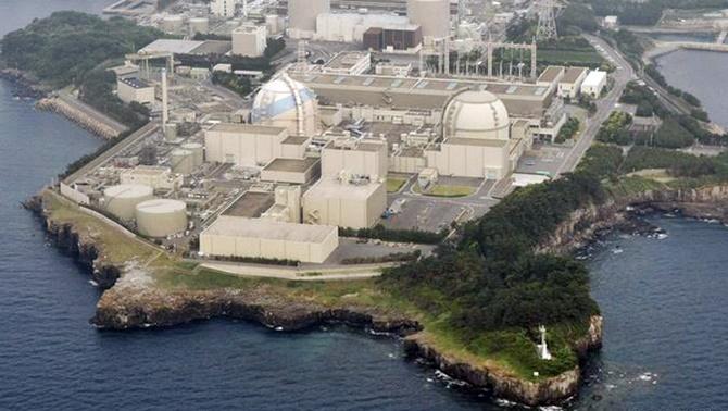 Japon nükleer santrali güvenlik testinden geçti