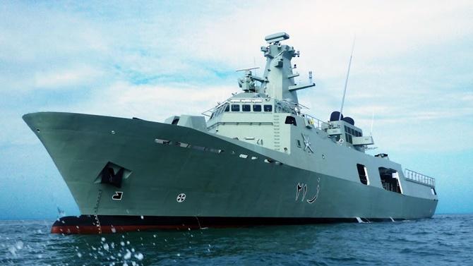 Umman Sultanlığı'nın hediye ettiği gemi Güney Kıbrıs'a geliyor