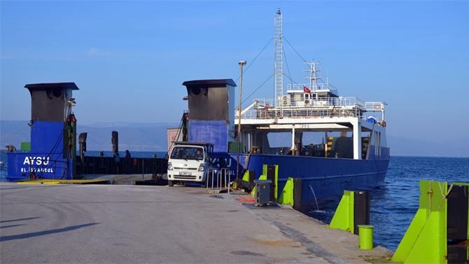 Mudanya-İstanbul arasında Ro-Ro seferleri başlatıldı