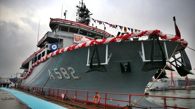 TCG Alemdar (A 582) Türk Deniz Kuvvetleri'ne teslim edildi