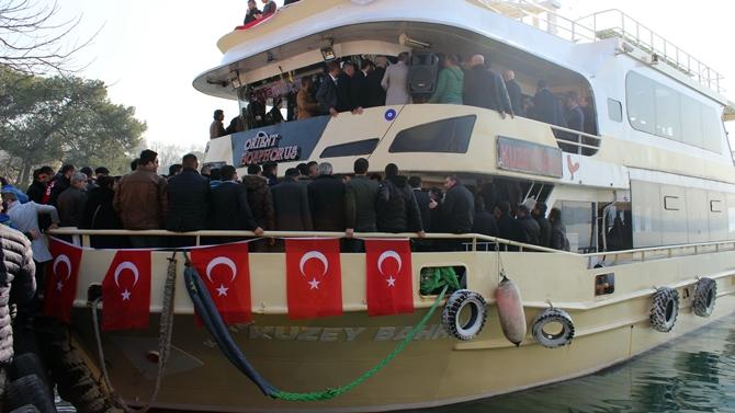 Beykoz-Yeniköy motorlarında akbil dönemi başladı
