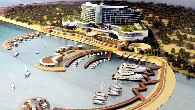 Kıbrıs'a 300 milyon dolarlık dev marina yatırımı