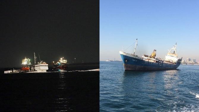 Ahırkapı'daki sahipsiz gemiler tehlike yaratıyor
