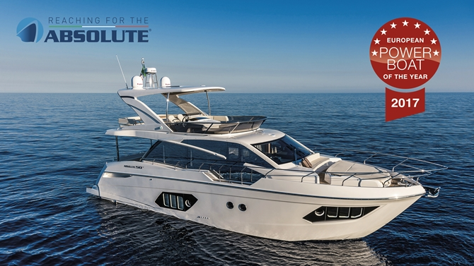 """Absolute 50 FLY"" CNR Avrasya Boat Show'da sergilenecek!"