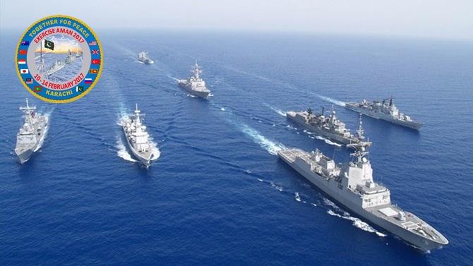 AMAN-2017 ortak askeri deniz tatbikatı yapılacak