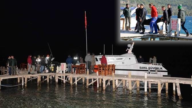 Gökova Körfezi'nde tekne alabora oldu: 2 ölü