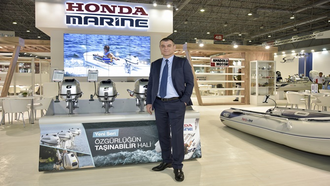'Honda Marine' Boat Show'da yerini aldı