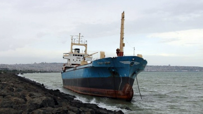 M/V Tokay Akar gemisi mahkemelik oldu