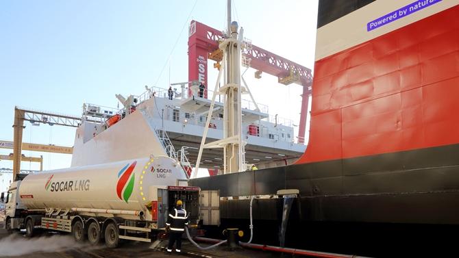 SOCAR Marine'den gemilere sıfır kükürtlü LNG yakıtı