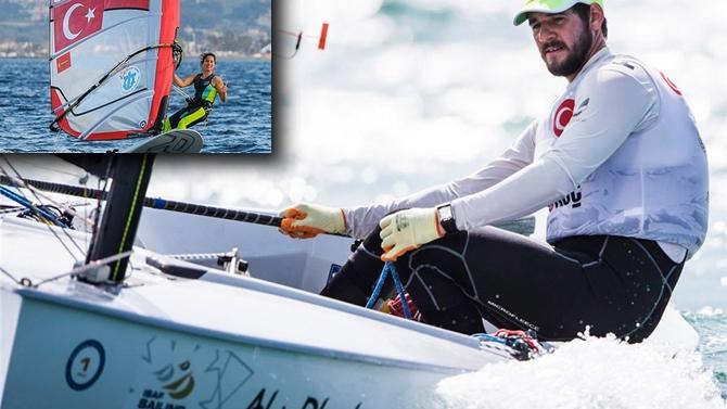 Yelkenciler Andalusian Olympic Week'ten 2 madalya ile döndü