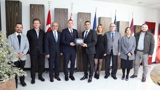 GAÜ Mersin Denizcilik ve GAÜ Havacılık Lisesi için protokol imzalandı