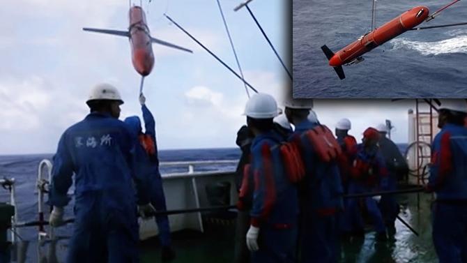 """CAS'ın ürettiği """"Haiyi"""" deniz aracı dünya rekoru kırdı"""