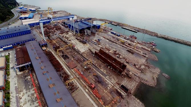 SSM Ereğli Shipyard'a ziyarette bulundu
