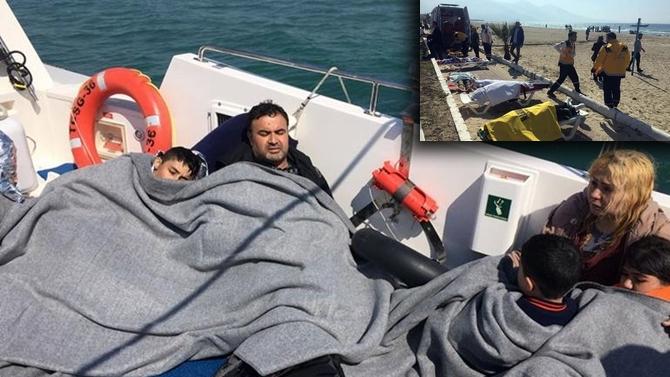Kuşadası'nda mülteci botu battı, çok sayıda ölü var!