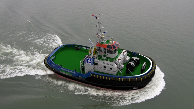 Meyer's Group orders two Damen ASD 2913 Tugs for new Panama Canal locks