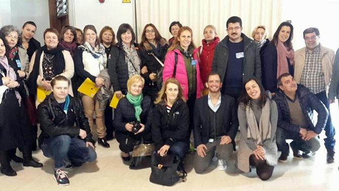 """Hatice Erdem MTAL """"Erasmus+ Projesi"""" kapsamında Portekiz'deydi"""