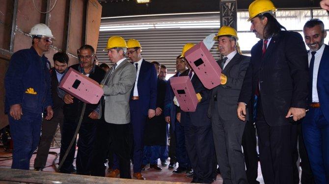 Tatvan'da ilk sivil tersanenin açılışı yapıldı