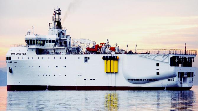 MTA Oruç Reis, denizlerimizde sismik çalışmada bulunacak