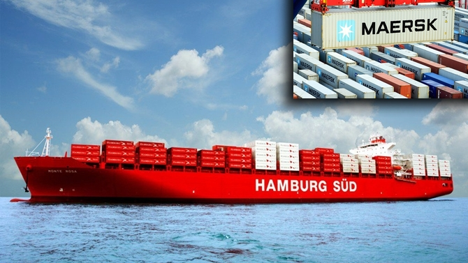 Maersk'in Hamburg Süd'ü satın almasına AB'den onay