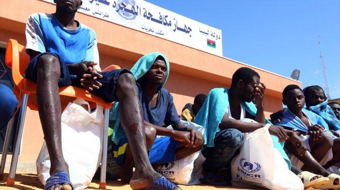 Göçmenleri taşıyan tekne Akdeniz'de battı