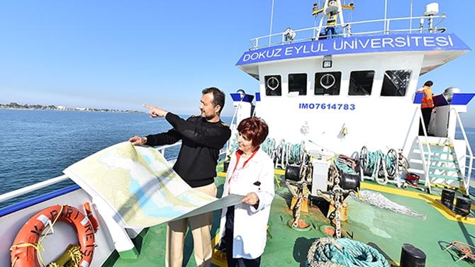 """İzmir Körfezi'ne """"Check-Up"""" yapıldı"""
