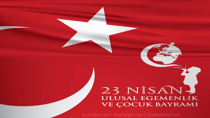 '23 Nisan Ulusal Egemenlik ve Çocuk Bayramı' kutlu olsun