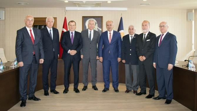 MEÜ Denizcilik Fakültesi'nin inşasını MDTO üstlendi