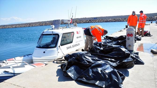 Ege'de mülteci teknesi battı: 16 ölü
