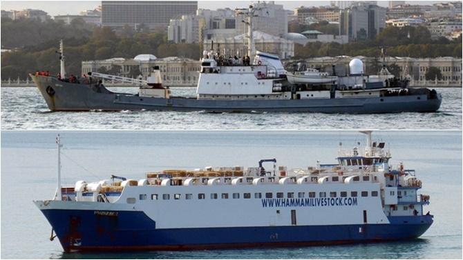 İstanbul Boğazı Kuzey Girişi'nde gemi kazası, Rus gemisi battı!