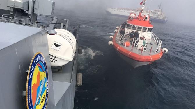 TSK, gemi kazasıyla ilgili açıklama yaptı