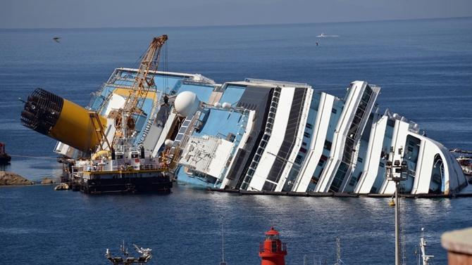 M/S Costa Concordia kaptanına 16 yıl hapis cezası!