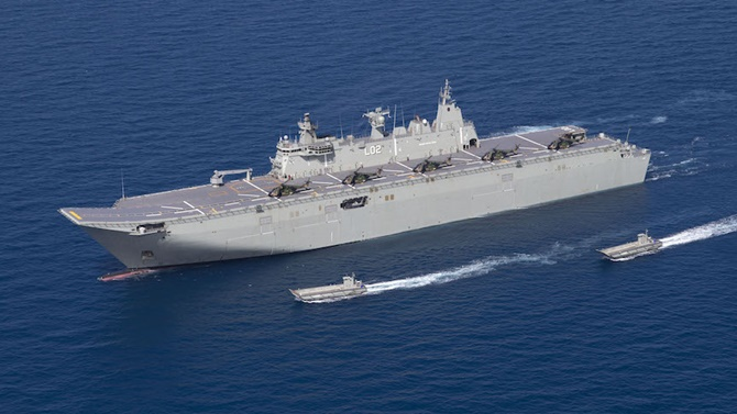 Propulsion problems put Australian warships out of action