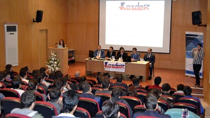 KOSDER, Karadeniz Teknik Üniversitesi'ndeydi