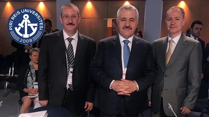 Prof. Dr. Oral Erdoğan, International Transport Forum'unda