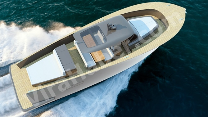 """Alen Yacht, """"ALEN 45"""" modelini suya indiriyor"""