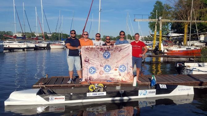 PRÜ Deniz Bisikleti Takımı 38. IWR'de 2.lik elde etti