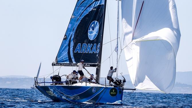 Arkas Sailing Team zorlu yarışa hızlı başladı