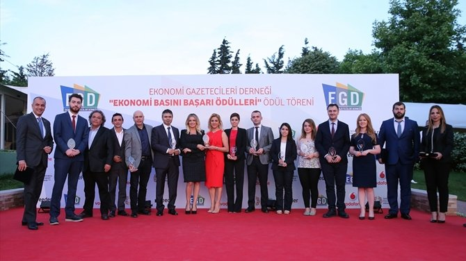 """""""Ekonomi Basını Başarı Ödülleri"""" töreni gerçekleştirildi"""