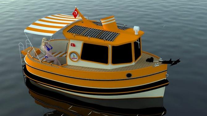 Tuggy markalı tekne hem çevreci, hemde vergisiz olacak!