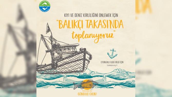 TURMEPA, balıkçı takası ile İstanbul Boğazı'na açıldı